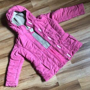 Girls Lands End winter coat